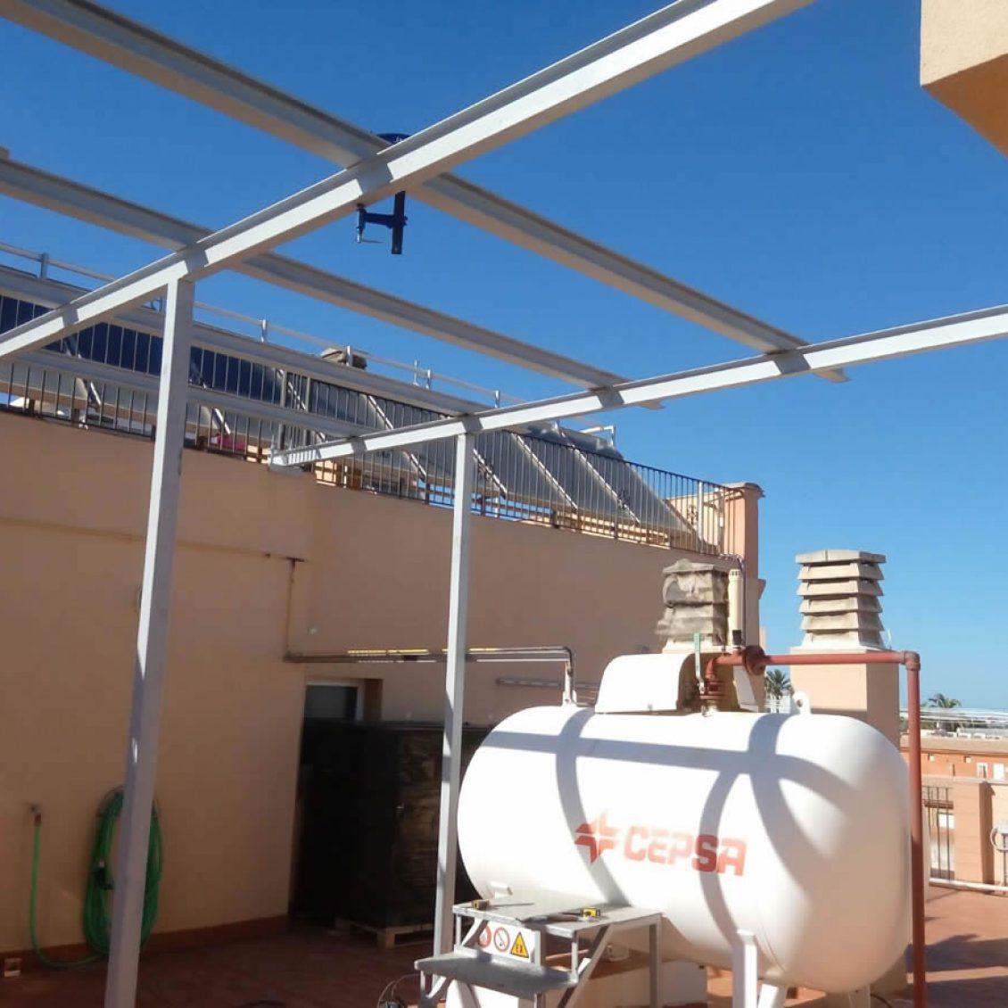estructura-metalica-para-huerto-solar-en-Murcia